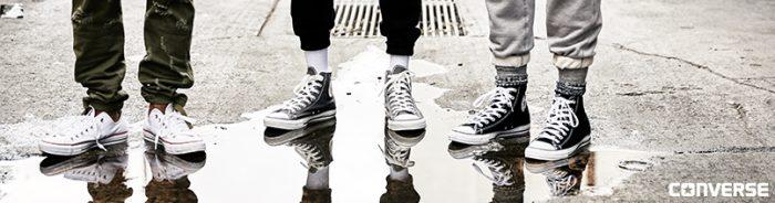Schoenmaat omrekenen Converse All Stars